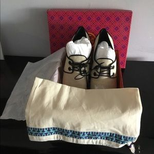 Tory Burch FAWN OXFORD ESPRADRILLE Shoes | Size 9M